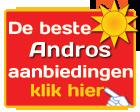 Andros vakanties - Andros aanbiedingen