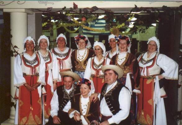 Griekse dansgroep