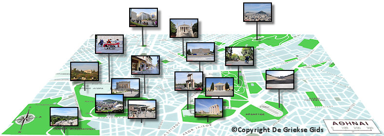 Plattergrond Athene Centrum