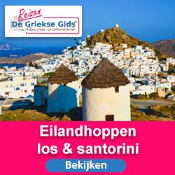 Eilandhoppen Santorini Griekse Gids Reizen