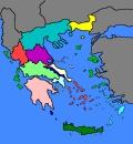 kaartje Griekenland