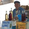 Wijnkraampje in Griekenland