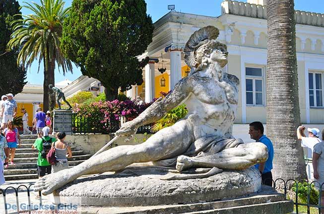 Het Achilleion op Corfu