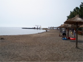 Beach Moraitika Corfu