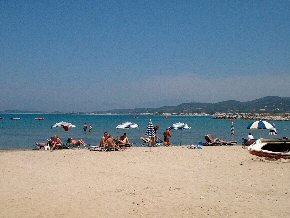 The beach of Roda - Roda Beach