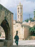 De kerk van Panagia ton Dason