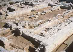 Opgravingen van Kition Cyprus