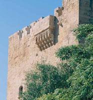 De burcht van Kolossi in Lemessos