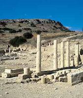 Opgravingen van Amathous op Cyprus