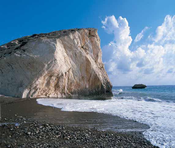 Petra tou Romiou Paphos cyprus