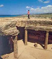 Koningsgraven Paphos cyprus