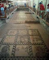 De Mozaieken in Kato Pafos Cyprus