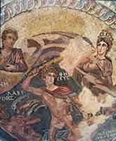 Mozaieken vloer in Pafos