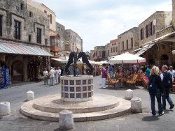 Rhodos, de Joodse buurt
