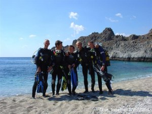 Duikschool Dive together Plakias Kreta