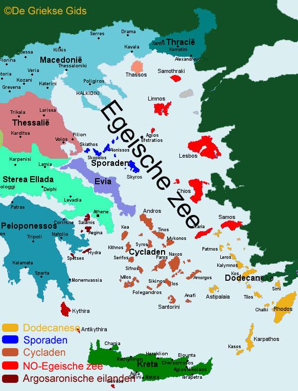 De Egeische eilanden