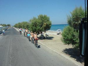 Fietsen in Griekenland