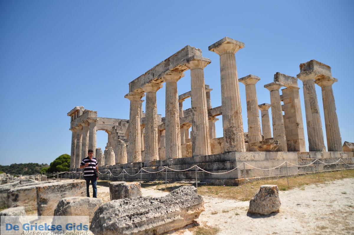 foto Uitzicht vanaf Afaia | Aegina | De Griekse Gids