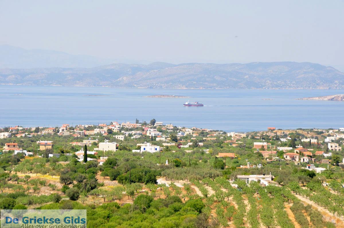 foto Uitzicht Noordwesten Aegina | Griekenland 2