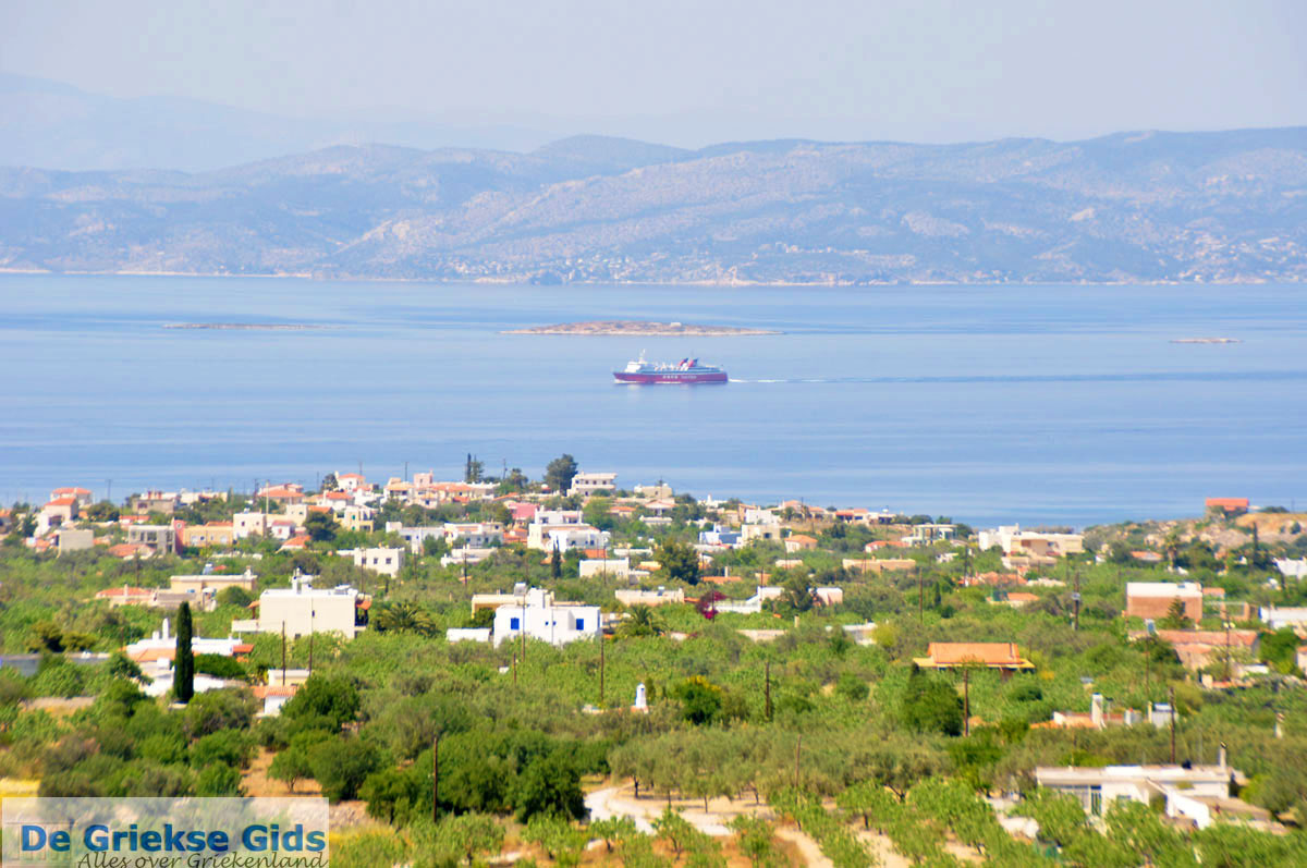 foto Uitzicht Noordwesten Aegina | Griekenland 4