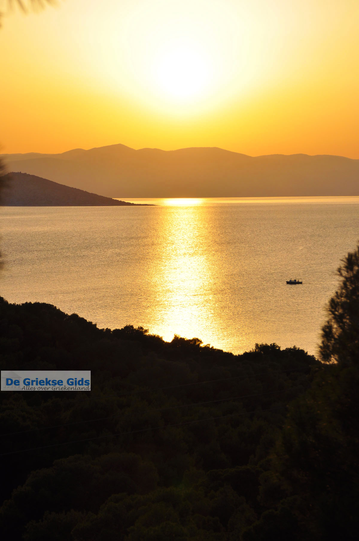 foto Zonsondergang bij Dragonera | Agkistri Griekenland | Foto 1