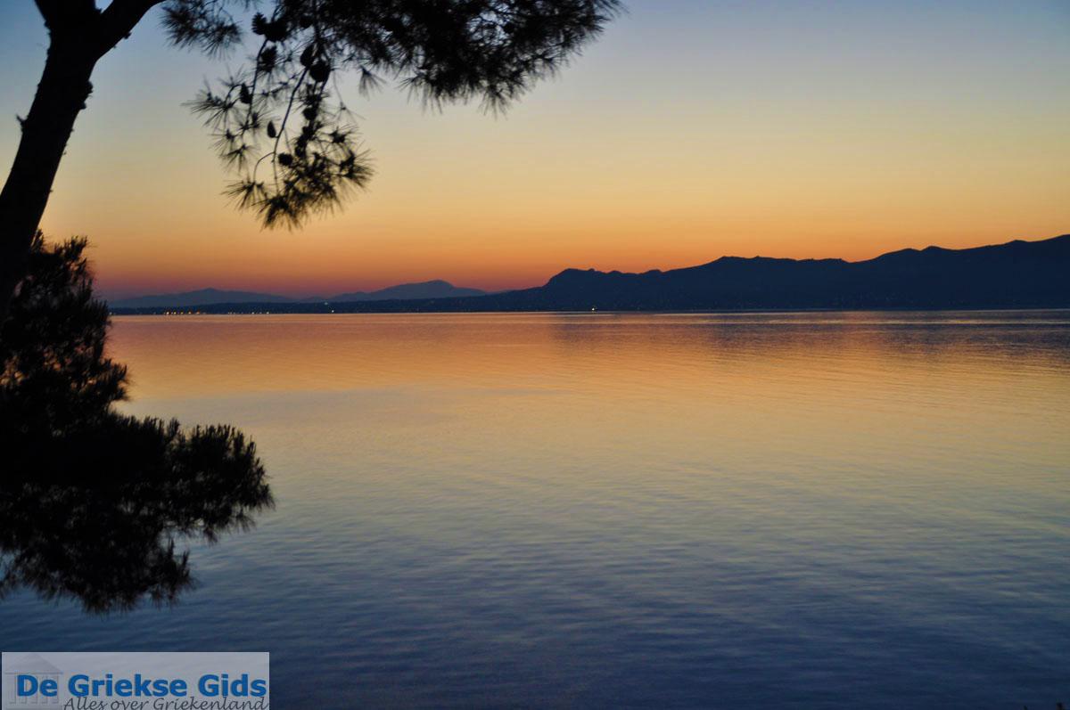 foto Zonsopgang gezien vanop Agkistri | Aan de overkant Aegina | Foto 2
