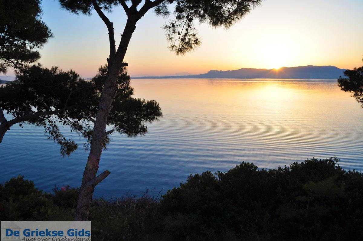 foto Zonsopgang gezien vanop Agkistri | Aan de overkant Aegina | Foto 3