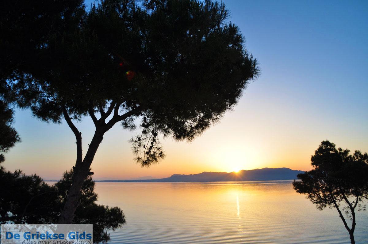 foto Zonsopgang gezien vanop Agkistri | Aan de overkant Aegina | Foto 4
