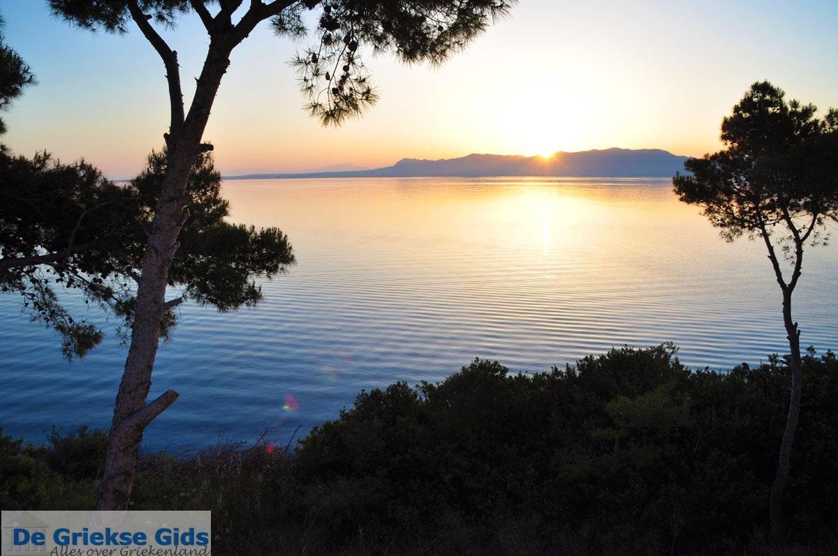 foto Zonsopgang gezien vanop Agkistri | Aan de overkant Aegina | Foto 5