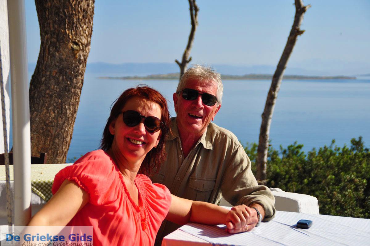 foto Bryan en Henriette van Agistri Club  | Agkistri Griekenland