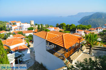 Alonissos stad (Chora) | Sporaden Griekenland foto 100 - Foto van De Griekse Gids