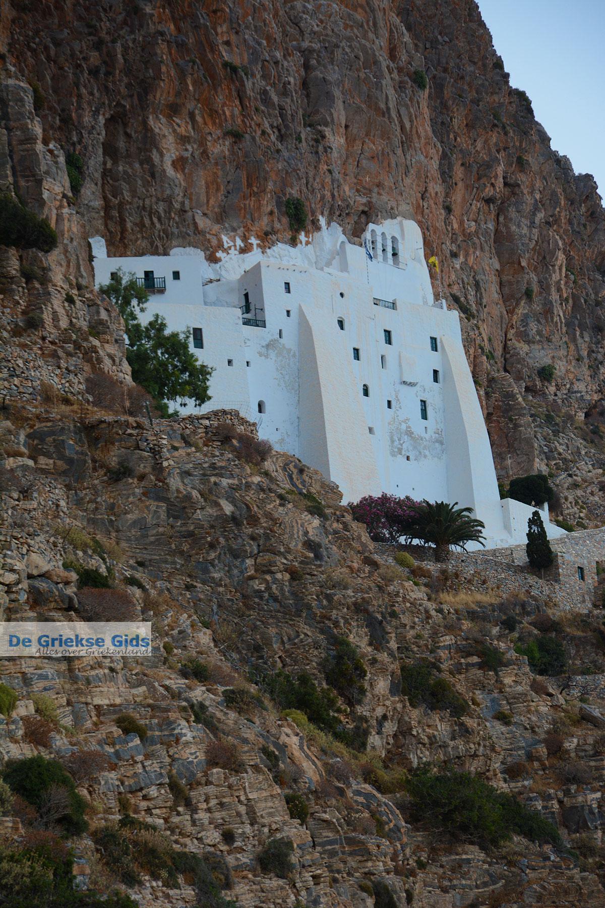 foto Chozoviotissa klooster - Eiland Amorgos - Cycladen foto 58