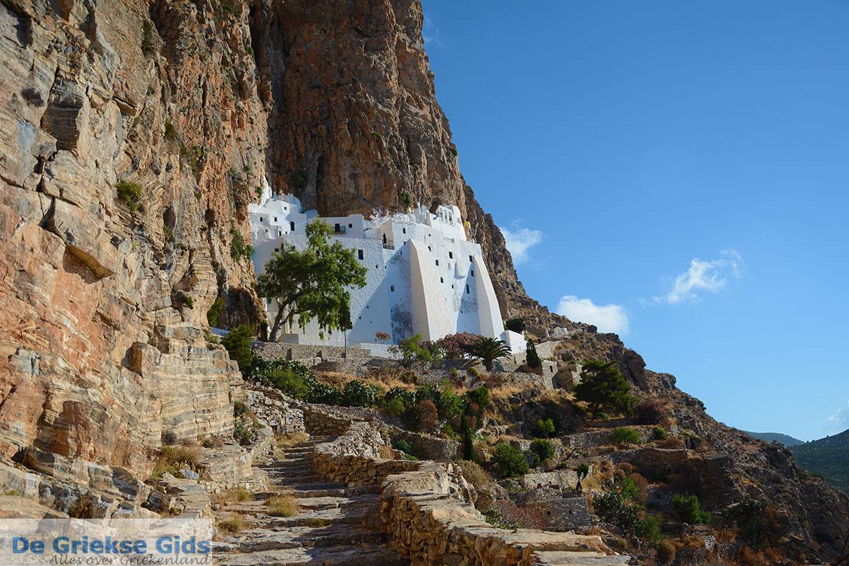 foto Chozoviotissa Amorgos - Eiland Amorgos - Cycladen foto 78