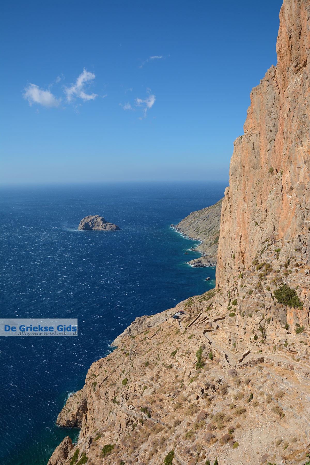 foto Chozoviotissa Amorgos - Eiland Amorgos - Cycladen foto 98