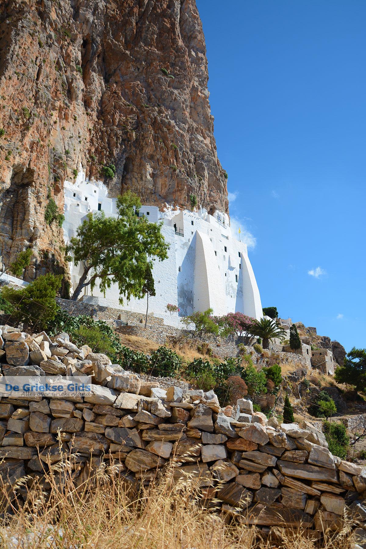 foto Chozoviotissa Amorgos - Eiland Amorgos - Cycladen foto 109