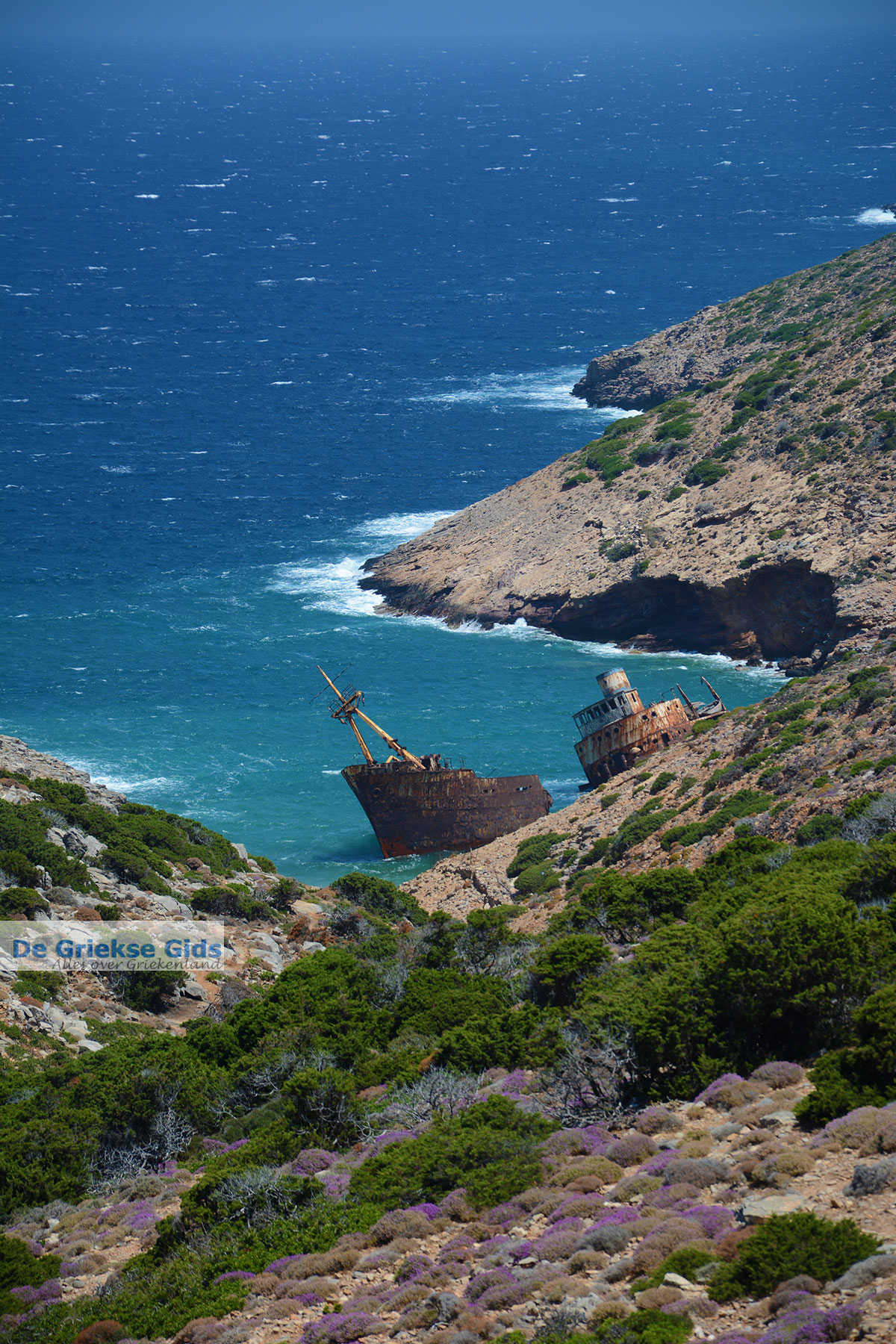 foto Kalotaritissa Amorgos - Eiland Amorgos - Cycladen foto 173