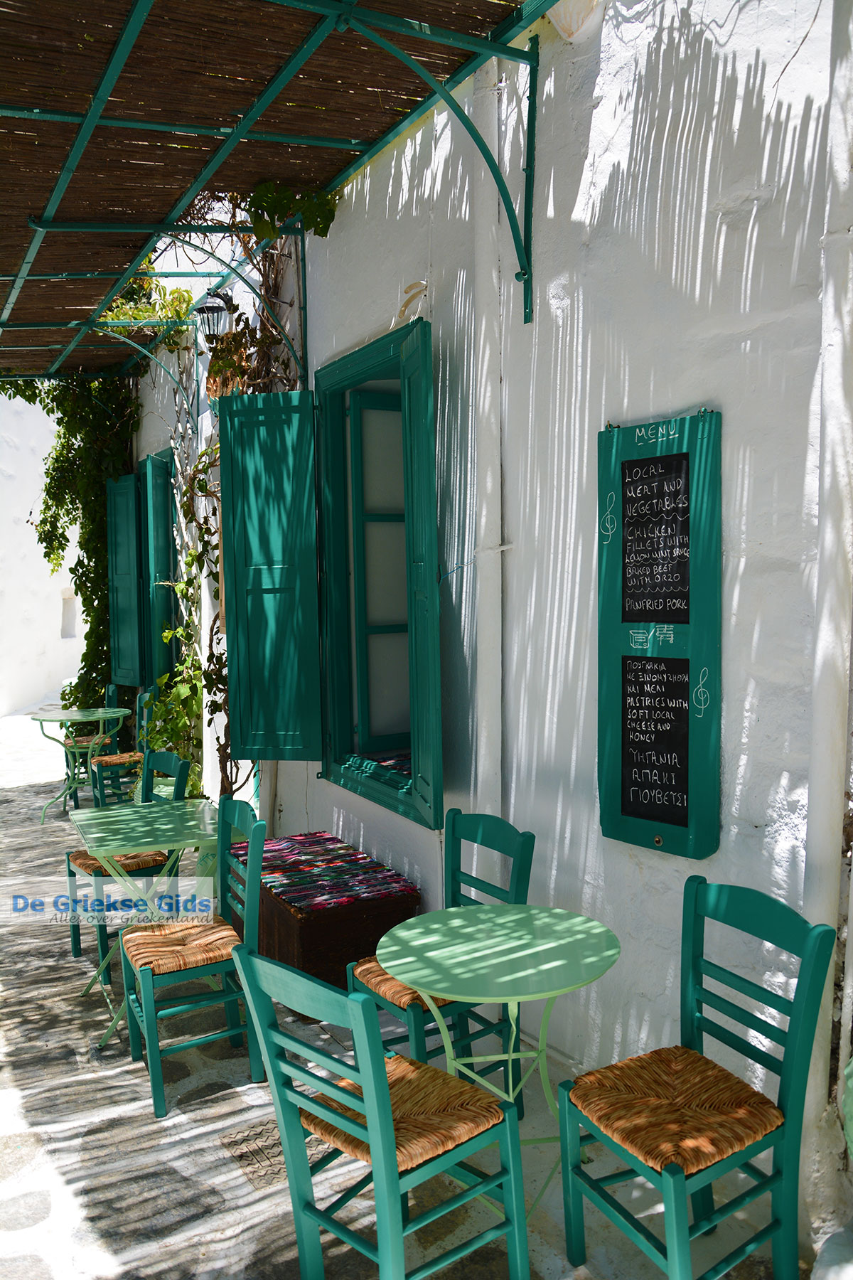 foto Amorgos stad (Chora) - Eiland Amorgos - Cycladen foto 210