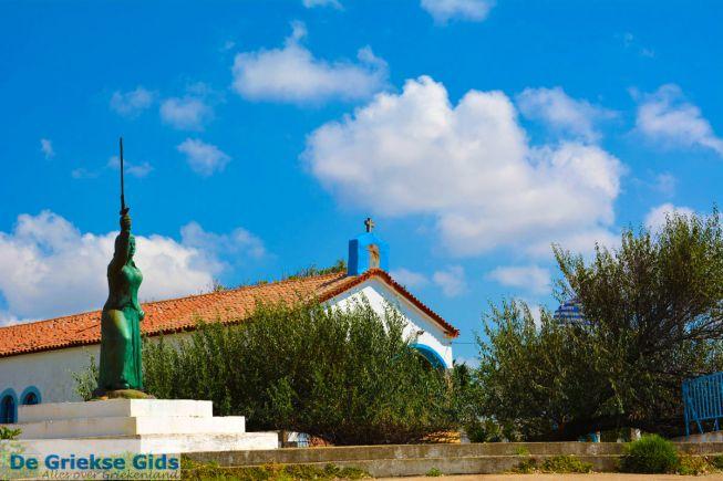De Griekse heldin Maroula in Kotsinas