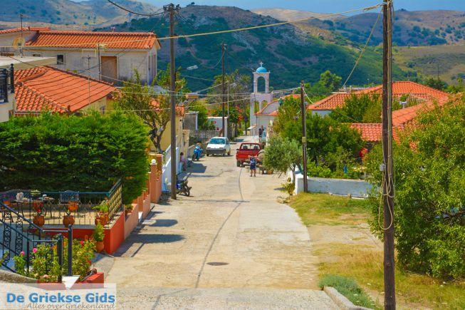 Het dorpje Agios Dimitrios op Limnos