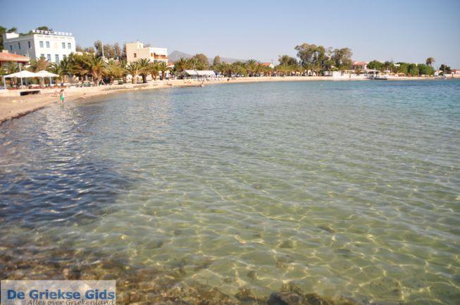 Aegina-stad strand