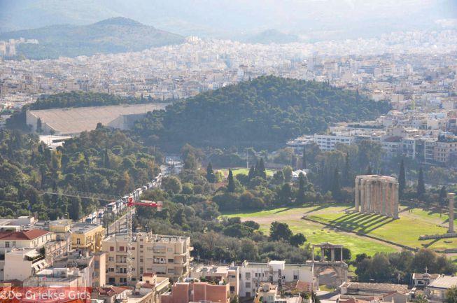 Het Panathinaiko stadion in Athene