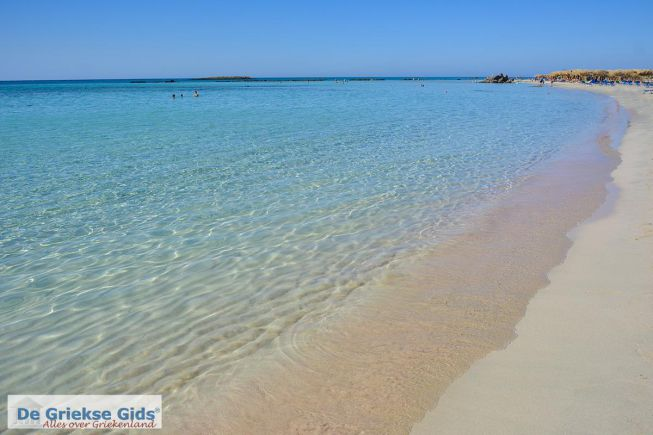 Elafonissi beach strand Kreta