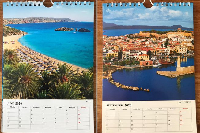 Griekenland kalenders
