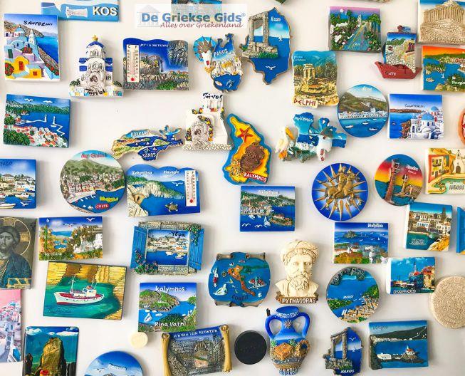 Magneten souvenirs Griekenland
