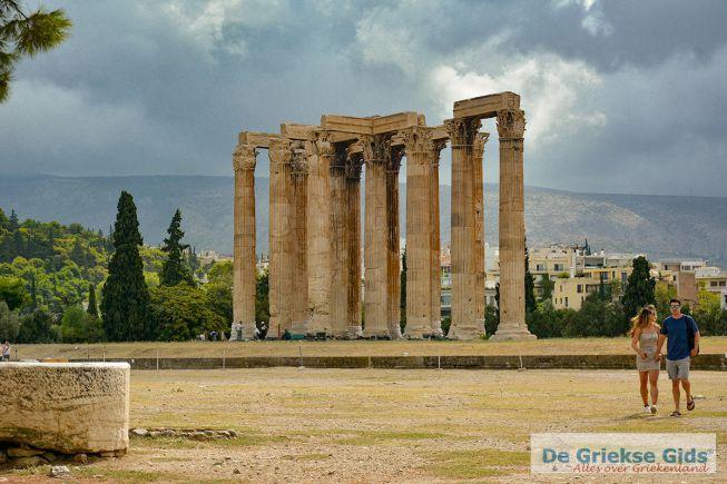 Tempel Zeus Olympius in Athene
