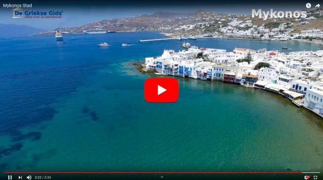Video stad Mykonos