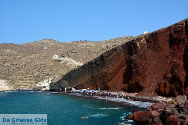 Red beach Akrotiri Santorini