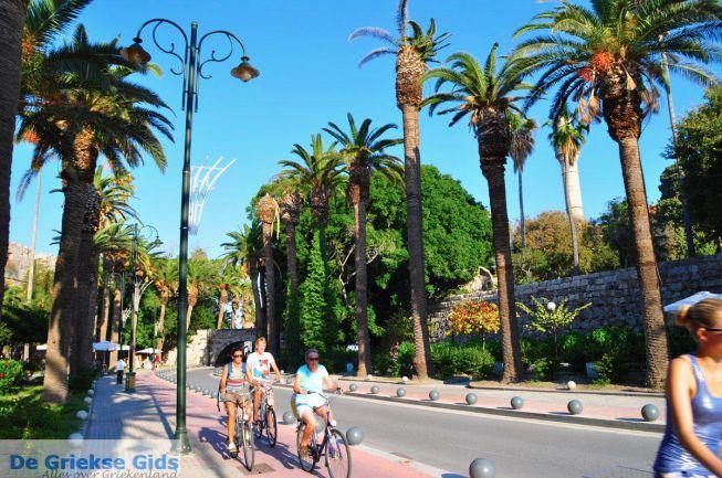 Kos stad fietsen