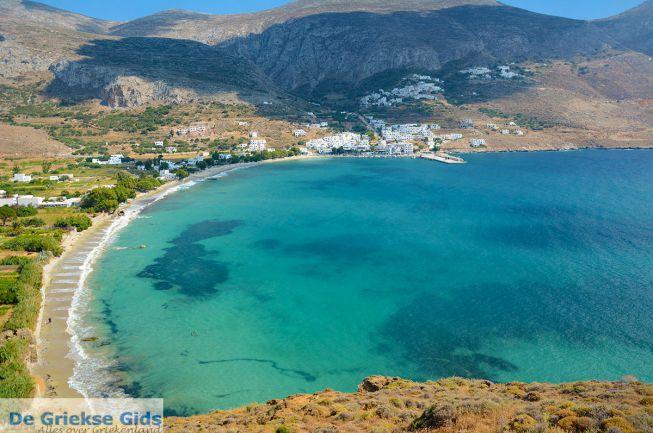 Aegiali strand