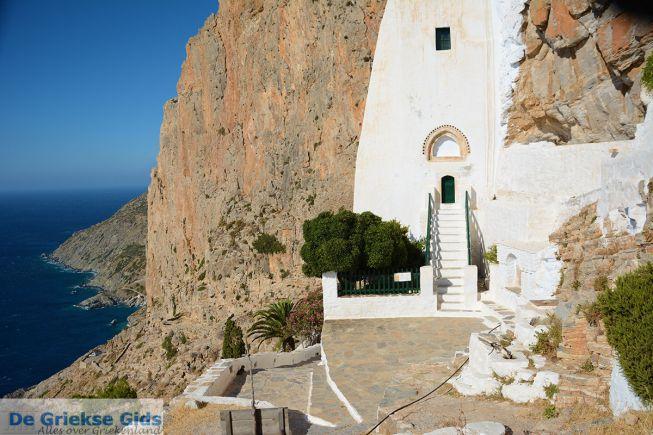 Bezoek Chozoviotissa klooster Amorgos